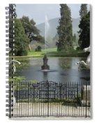 Powerscourt House Terrace And Fountain Spiral Notebook