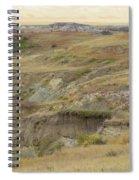 Prairie Edge September Reverie Spiral Notebook