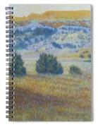 Prairie Realm Of West Dakota Spiral Notebook