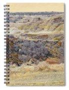 Prairie Slopes Reverie Spiral Notebook