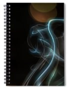 Presence - Smoke Photography Spiral Notebook
