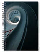 Pretty Blue Spiral Staircase Spiral Notebook