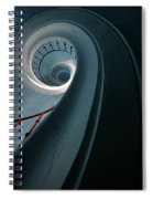 Pretty Blue Spiral Staircase Spiral Notebook