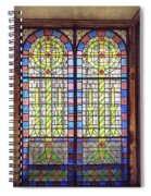 Pretty Glass Spiral Notebook