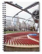 Pritzker Pavilion - Millennium Park Spiral Notebook