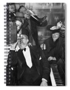 Prohibition Ends Drink Up Spiral Notebook
