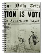 Prohibition Voted Out Spiral Notebook