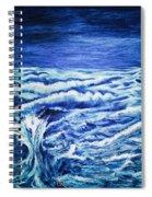 Promethea Ocean Triptych 3 Spiral Notebook