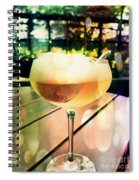 Prosecco Float Spiral Notebook