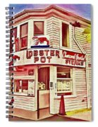 Provincetown Tradition Lobster Pot Spiral Notebook
