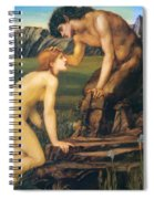 Psyche And Pan 1874 Spiral Notebook