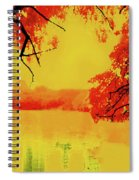 Psychedelic Lake Spiral Notebook