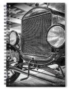 Puebla Model T Spiral Notebook