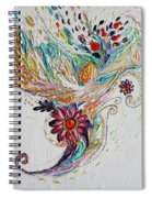 Pure Abstract #4. Trumpeting Angel Spiral Notebook