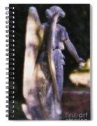 Purple Angel Spiral Notebook