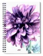 Purple Blend Petals Two Spiral Notebook