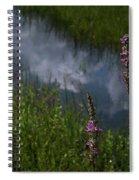 Purple Daydream Spiral Notebook
