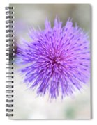 Purple Peace Spiral Notebook