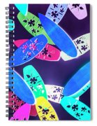 Purple Waters Spiral Notebook