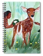 Putting On The Spots Spiral Notebook
