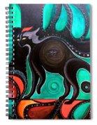 Pyewacket Noir Spiral Notebook