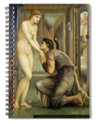 Pygmalion And The Image, The Soul Attains - Digital Remastered Edition Spiral Notebook