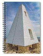 Pyramid Bell Tower Maine Spiral Notebook