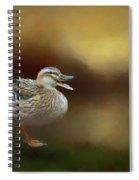 Quack Quack Spiral Notebook