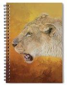 Queen Of The Desert Spiral Notebook