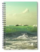 Quiet Before The Storm Spiral Notebook