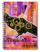 Quoth The Raven Spiral Notebook