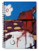 Rabbit Holes Spiral Notebook