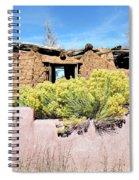 Rabbitbrush And Adobe Ruins Spiral Notebook