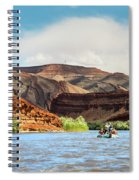 Rafting On The San Juan River Spiral Notebook