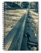 Rail Away  Spiral Notebook