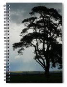 Rain Clouds Coming Spiral Notebook