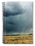 Rain Down On Parched Fields  Spiral Notebook