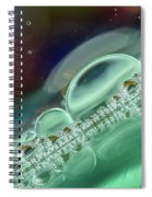 Rainbow Bubbles Spiral Notebook