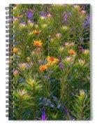 Rainbow Garden Spiral Notebook