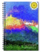 Rainbow Mountain - Breaking The Gridlock Of Hate Number 5 Spiral Notebook