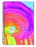 Rainbow Shell Spiral Notebook