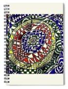 Rainbowrings Spiral Notebook