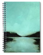 Rainy Day At The Lake Spiral Notebook