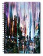 Rainy Street Spiral Notebook