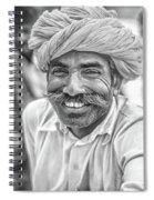 Rajput High School Teacher Bw Spiral Notebook