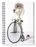 Rambling Rosy  Spiral Notebook