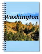 Randle Washington In Fall 02 Spiral Notebook