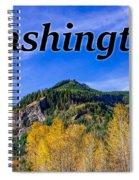 Randle Washington In Fall Spiral Notebook