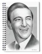 Ray Bolger Spiral Notebook