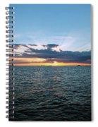 Rays Of Light Spiral Notebook